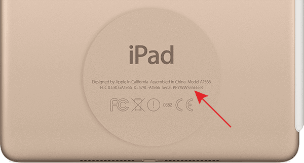 iPad-Serial-Number-shell